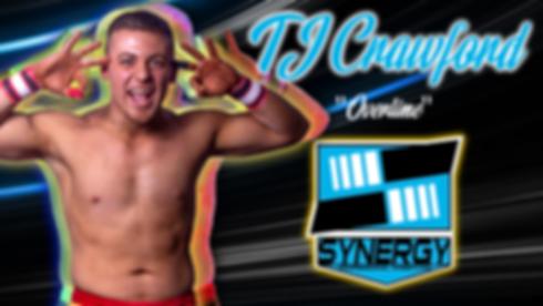 Synergy Pro Wrestling TJ Crawford