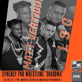 LSG vs Matt Vertigo Synergy Pro Wrestling 10/24