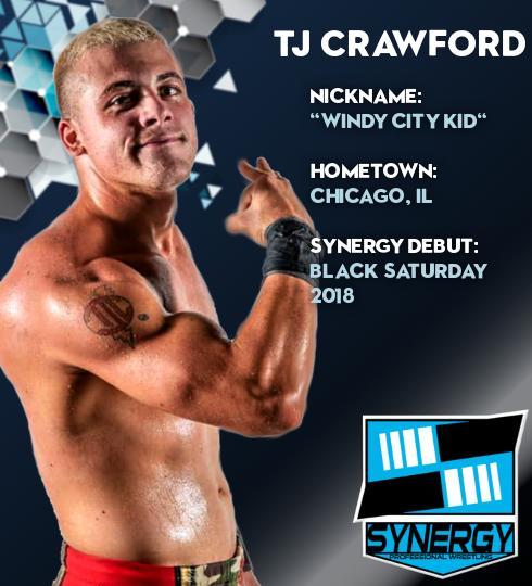 Synergy Pro Wrestling Roster: TJ Crawford