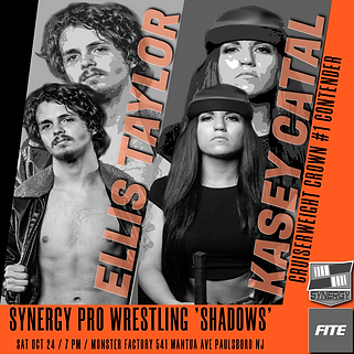 Kasey Catal vs Ellis Taylor Intergender Synergy Pro Wrestling 10/24