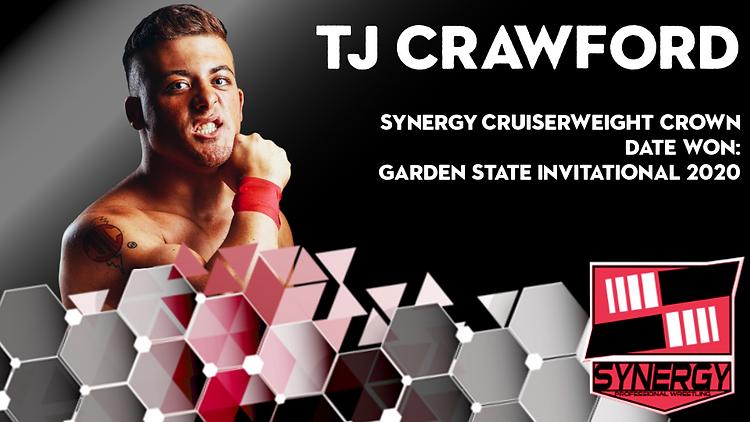 Synergy Pro Wrestling Cruiserweight Crown TJ Crawford