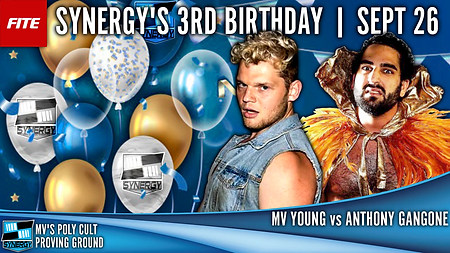 MV Young Poly Cult Synergy Pro Wrestling Anthony Gangone