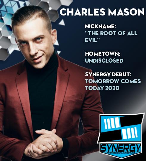 Synergy Pro Wrestling Roster: Charles Mason