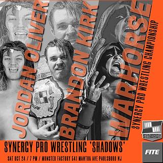 Jordan Oliver vs Warhorse vs Brandon Kirk Synergy Pro Wrestling 10/24