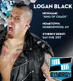 Synergy Pro Wrestling Roster: Logan Black