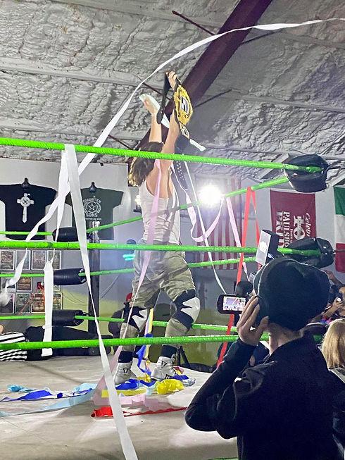 Jordan Oliver Synergy Pro Wrestling Champion