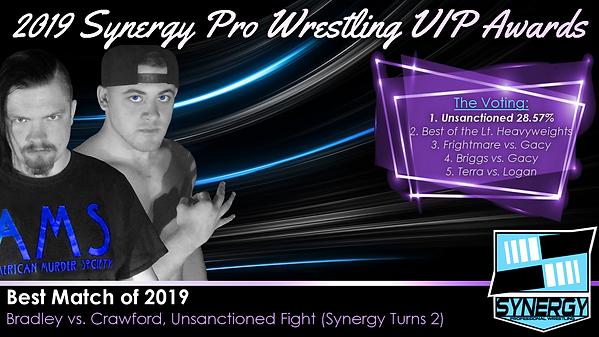 Synergy Pro Wrestling 2019 Aaron Bradley TJ Crawford