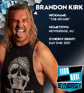 Synergy Pro Wrestling Roster: Brandon Kirk