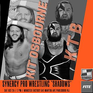 KTB vs Kit Osbourne Synergy Pro Wrestling 10/24