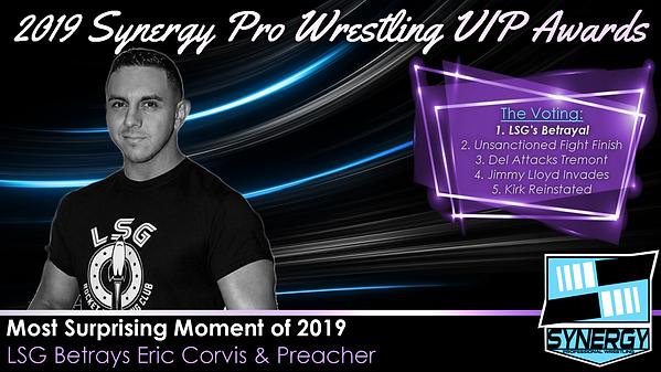 Synergy Pro Wrestling 2019 LSG