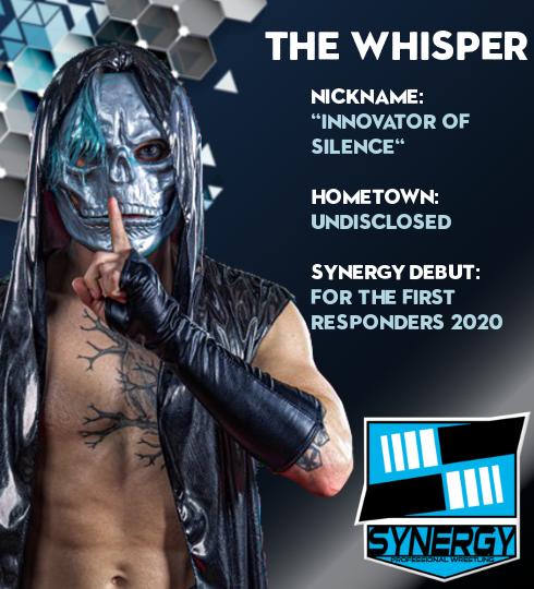 Synergy Pro Wrestling Roster: The Whisper