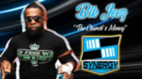 BLK Jeez Synergy Pro Wrestling