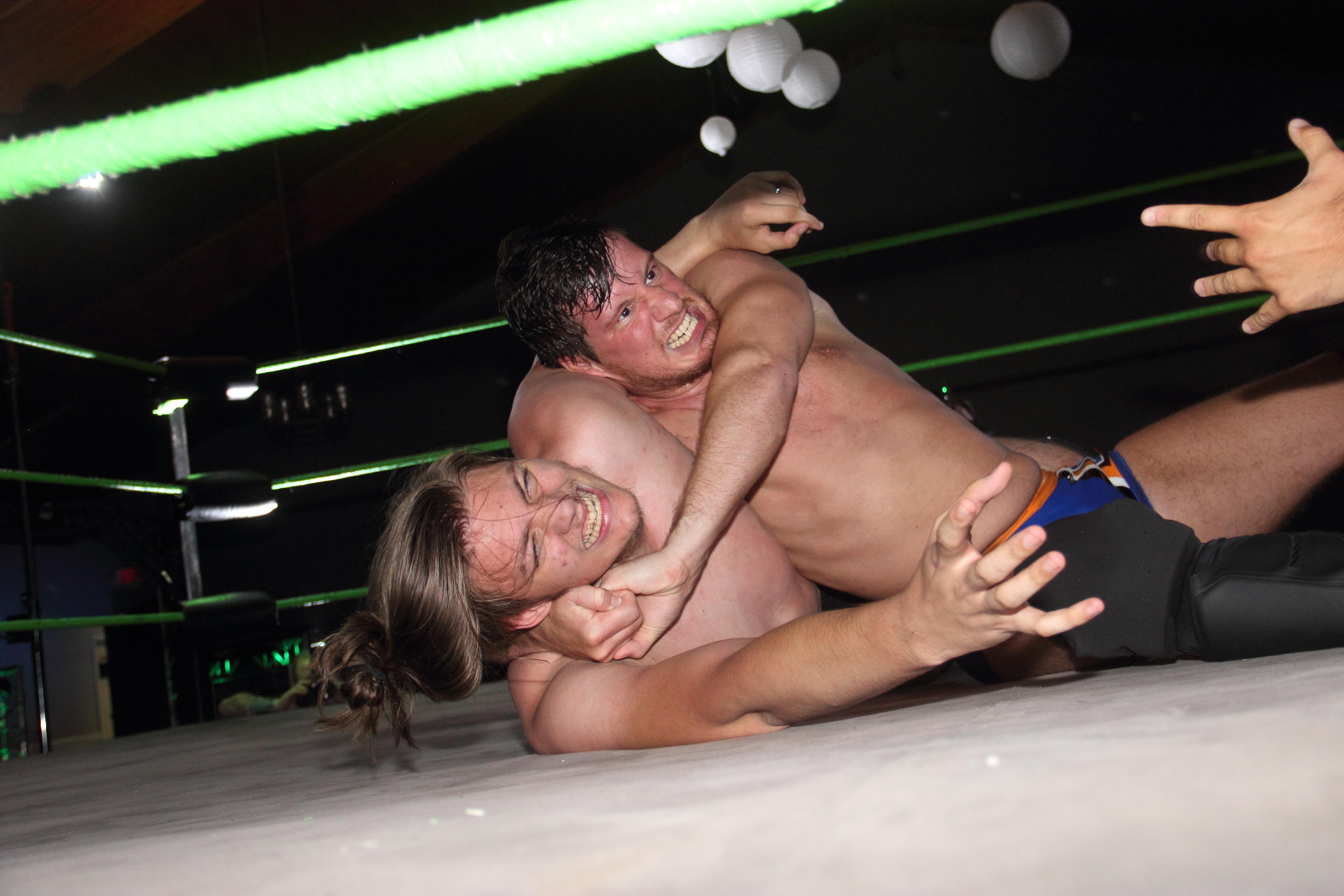Synergy Pro Wrestling GSI 2020 Tony Deppen Jordan Oliver