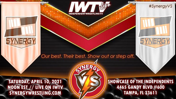 Synergy Pro Wrestling SynergyVS Tampa Mania Week 2021 4/10