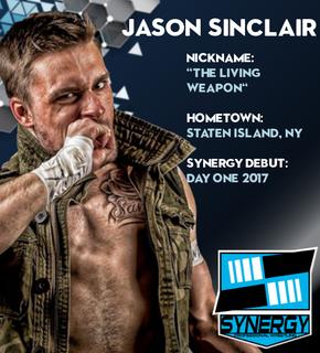 Synergy Pro Wrestling Roster: Jason Sinclair