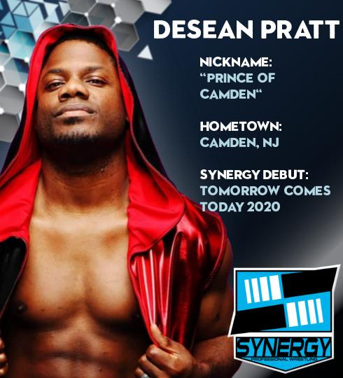 Synergy Pro Wrestling Roster: Desean Pratt