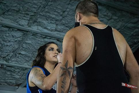 Synergy Pro Wrestling Kasey Catal Brandon Kirk
