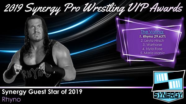 Synergy Pro Wrestling 2019 Rhyno