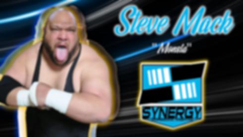 Synergy Pro Wrestling Steve Monsta Mack