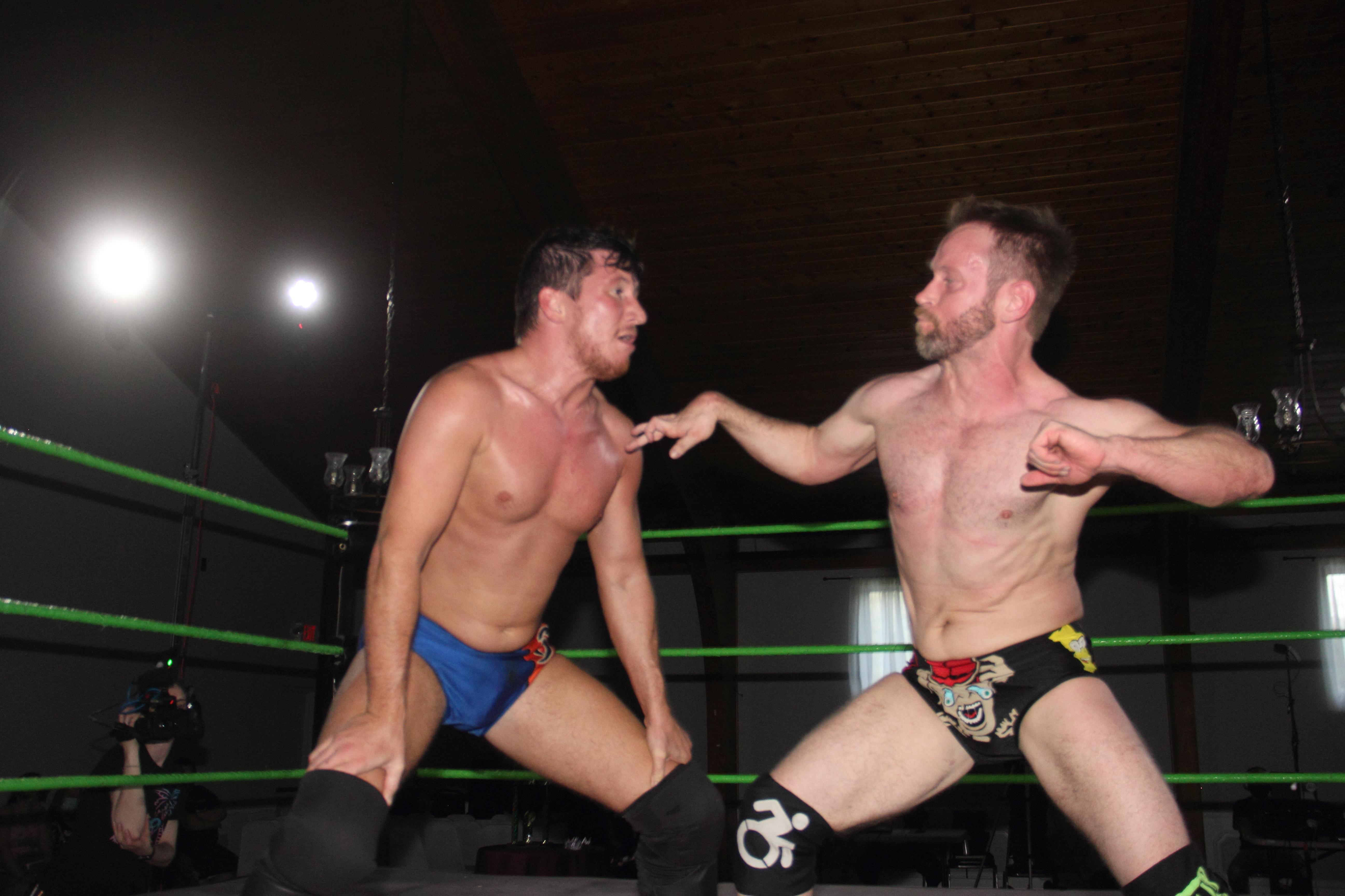 Synergy Pro Wrestling Tony Deppen Gregory Iron
