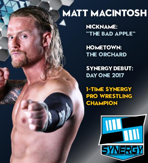 Synergy Pro Wrestling Roster: Matt Macintosh