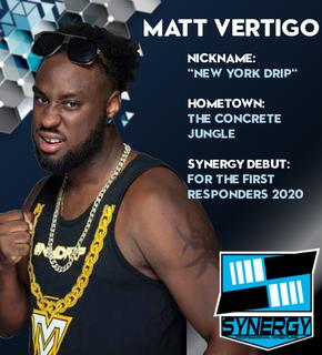 Synergy Pro Wrestling Roster: Matt Vertigo