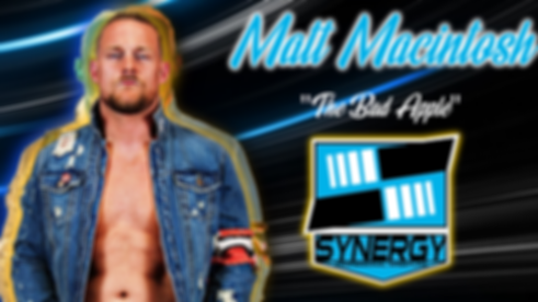 Synergy Pro Wrestling Matt Macintosh