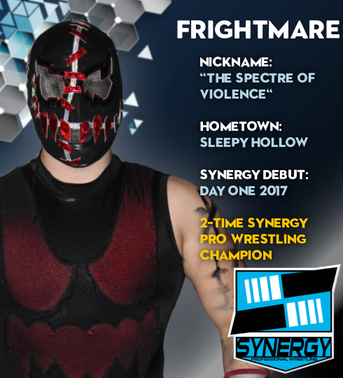 Synergy Pro Wrestling Roster: Frightmare