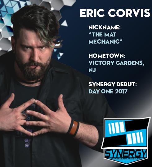 Synergy Pro Wrestling Roster: Eric Corvis