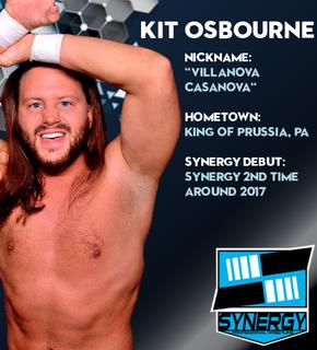 Synergy Pro Wrestling Roster: Kit Osbourne