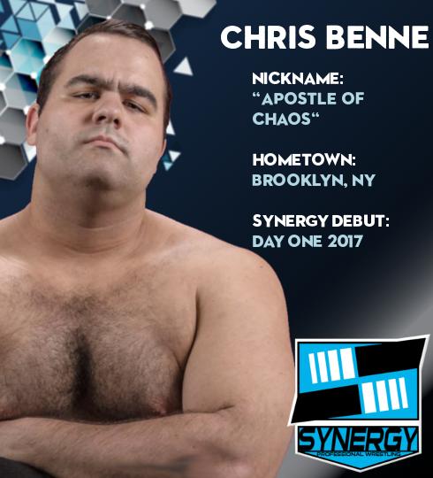 Synergy Pro Wrestling Roster: Chris Benne