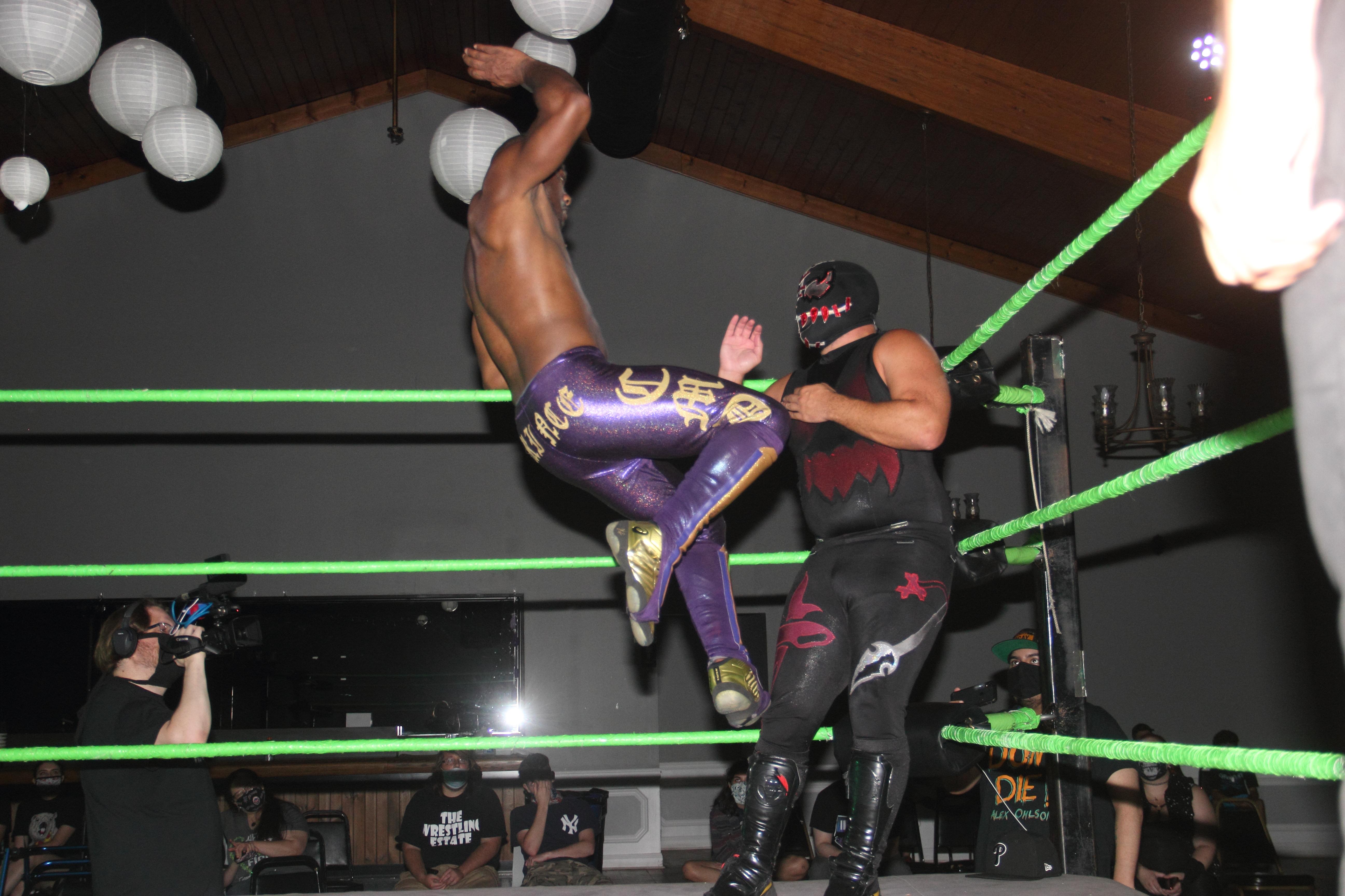 Synergy Pro Wrestling Frightmare Desean Pratt