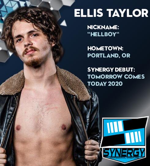 Synergy Pro Wrestling Roster: Ellis Taylor