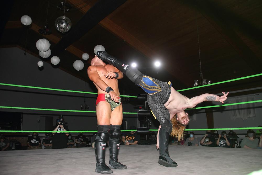 Ellis Taylor vs TJ Crawford, Synergy Pro Wrestling Cruiserweight Crown