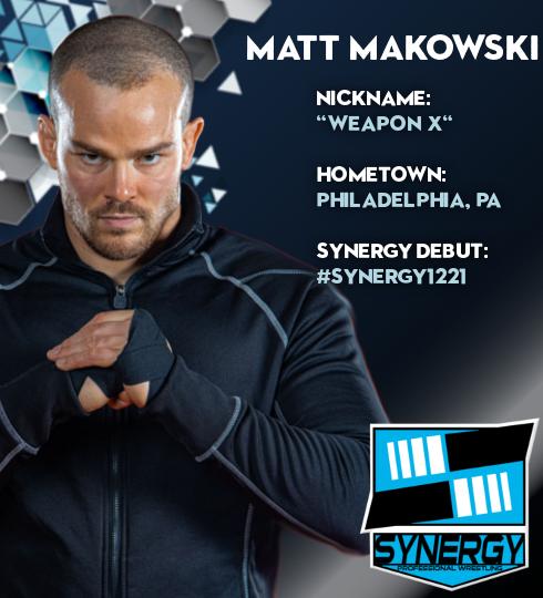 Synergy Pro Wrestling Roster: Matt Makowski