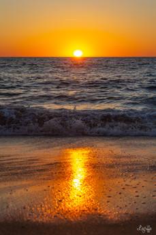 Sunset reflect