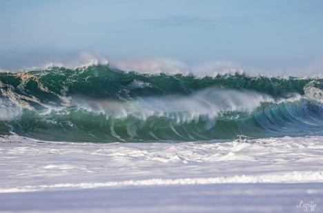 Double shorebreak!