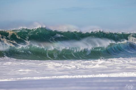 Double shorebreak!