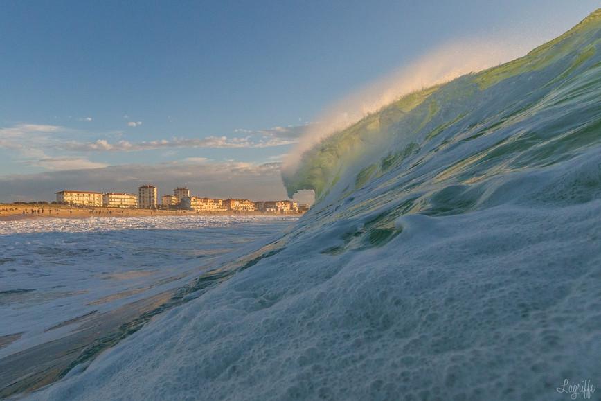Tsunami sur Hossegor