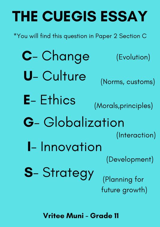 The CUEGIS Concepts