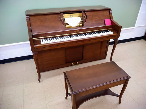Electric Player Piano & Bench