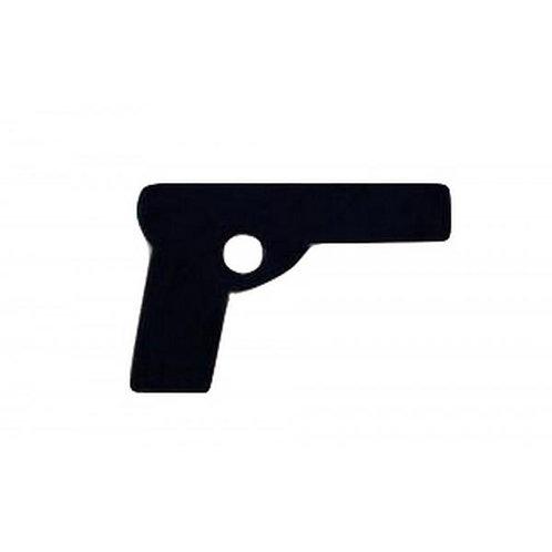 Pistolet en caoutchouc / Rubber pistol