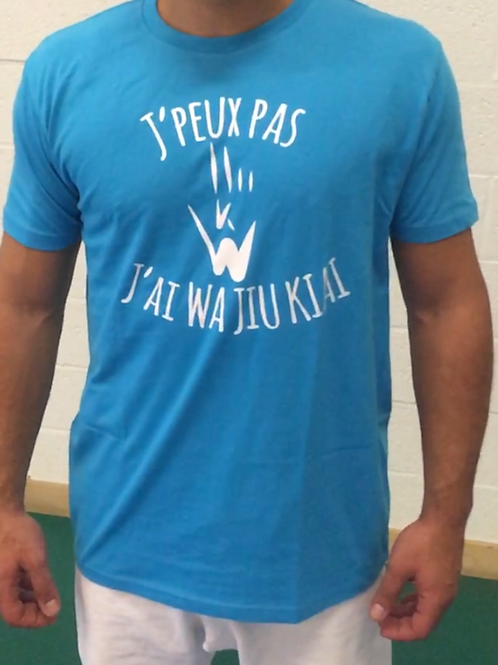 T-shirt Adulte : J'peux pas...