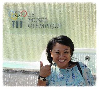 At Olympic Museum in Lausanne, Switzerland, 2015.