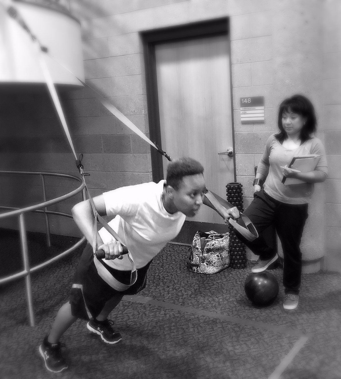 Train to excel physical fit test.