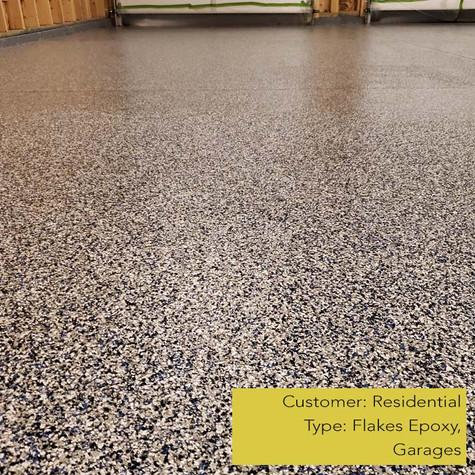 Flakes Epoxy