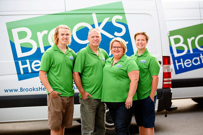 Family Business, HVAC contractor, Halton Hills, Brooks Heating