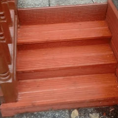 repaired patio decking