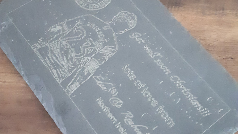 Personalised Slate Picture