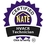 AvaAir is NATE certified